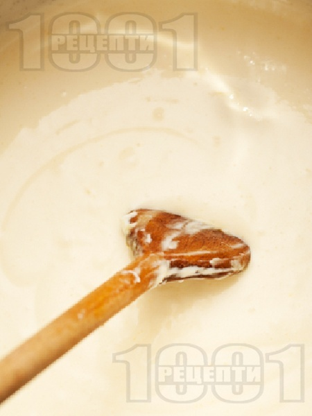 Сос Бешамел - снимка на рецептата